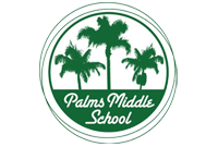 Palms Middle School  Logo