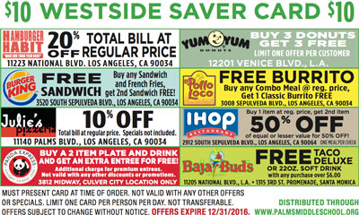 Westside Saver Card 2016 side 1 small