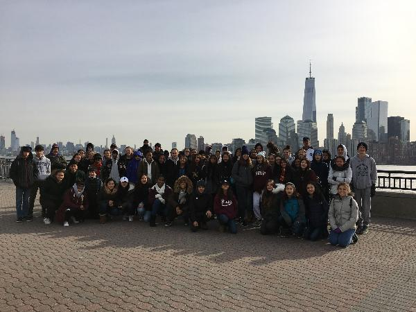 Liberty State Park and the Statue of Liberty
