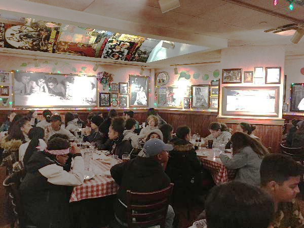Dinner at Buca di Beppo