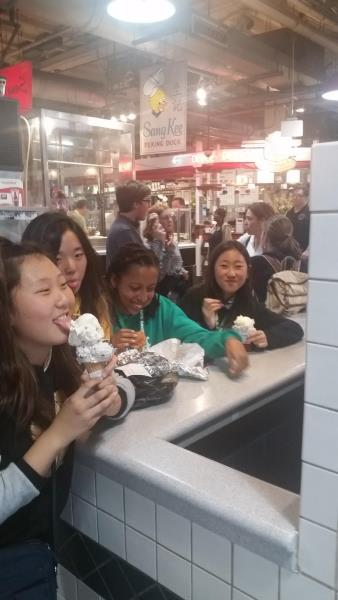 Ice Cream at Reading Terminal Market