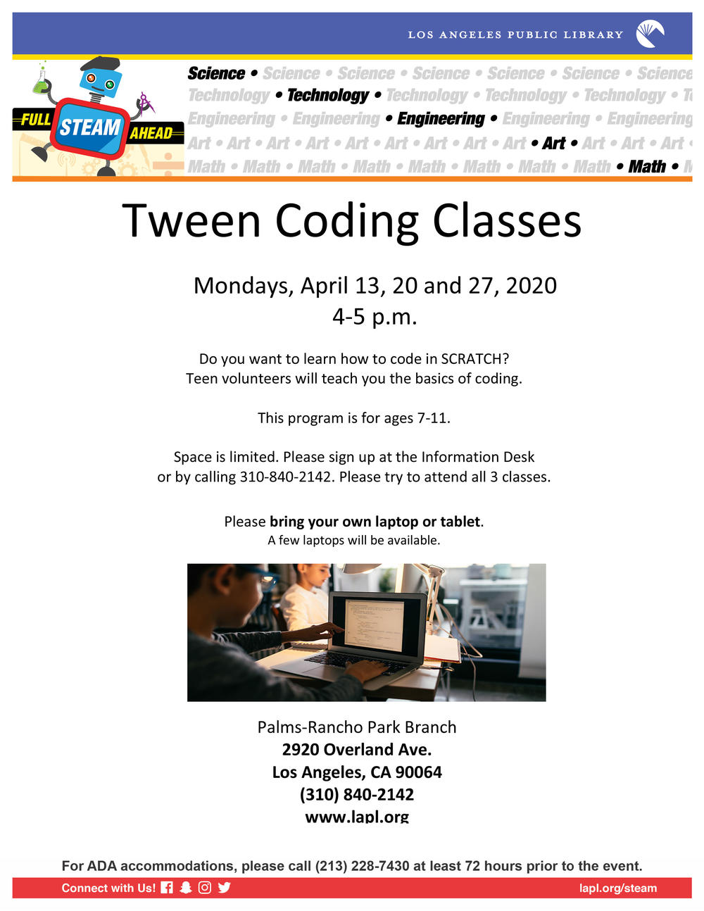 Tween Coding Classes