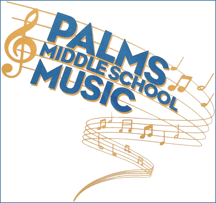 Palms Middle School Music logo