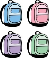 four backpacks