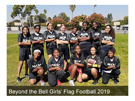 BTB Girls  Flag Football