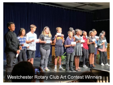 Westchester Rotary Club Art Contest Winners