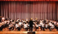 Palms Middle School band
