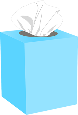 box of tissues