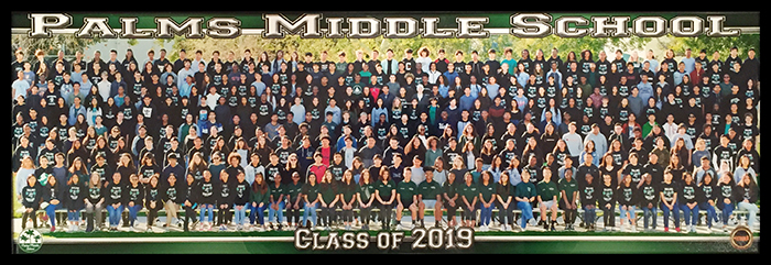 class of 2019 panorama photo