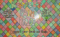 mural about Palms Pride