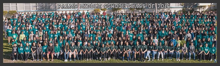 Palms Middle School Class of 2016