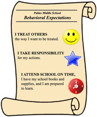 Behavioral Expectations scroll
