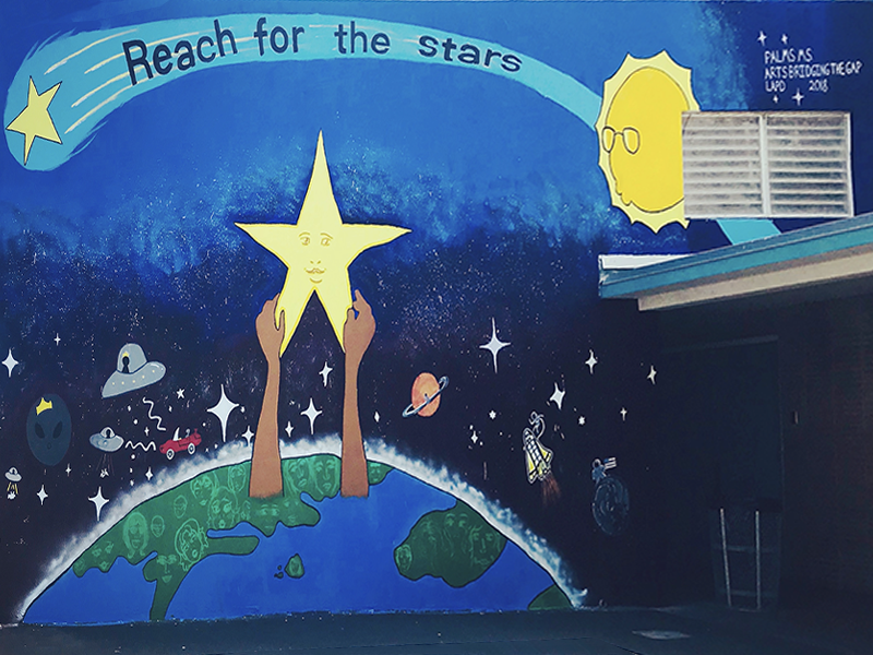 Reach for the Stars Mural