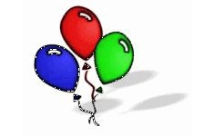 balloons (courtesy of pureclipart.com)
