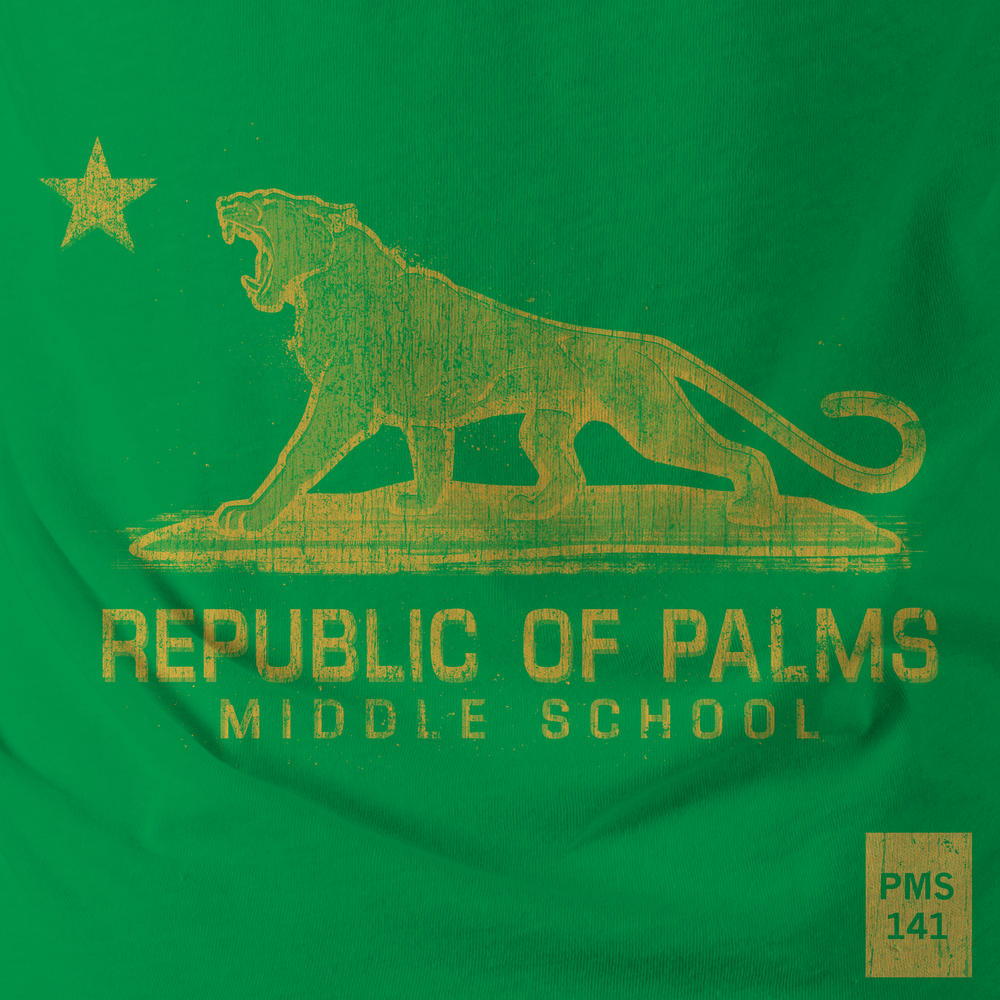 2016 Palms T-shirt artwork