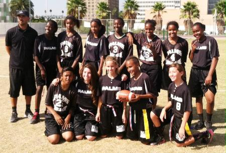 2014-09 Girls Flag Football