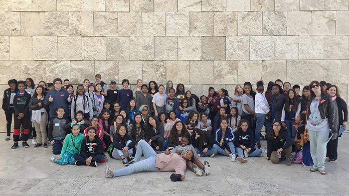 2017 Getty Center group photo