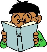 boy reading, courtesy of cliparts101.com